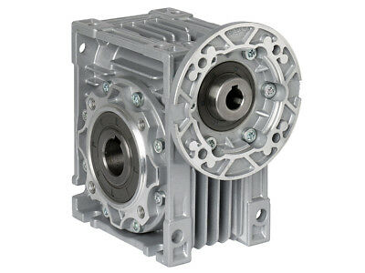 Size 40 Right Angle Worm Gearbox Motor Ready Type RV (18mm Output Bore)