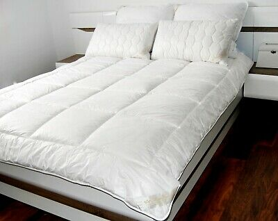 MERINO WOOL DUVET QUILT 8-10,5tog TOP QUALITY 450gsm ALL SIZES NATURAL BEDDING