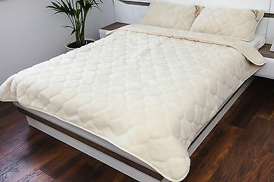 Merino Wool Cashmere Duvet - 100% Natural All Sizes Made With Love ! Ideal Gift