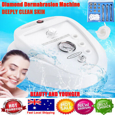 New 3 IN 1 Diamond Dermabrasion Microdermabrasion Machine Exfoliator Skin Device