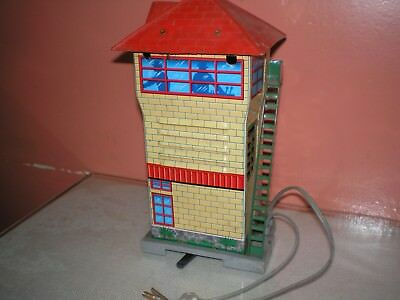 Vintage Nomura for ROSCO TOY USA Japanese Battery Tinplate Spur H0 control Tower