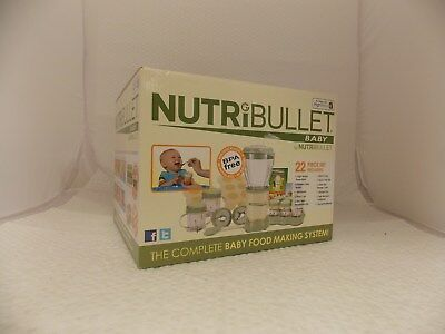 NUTRIBULLET BABY All In One FOOD MIXER / JUICER / BLENDER - Boxed / NEW