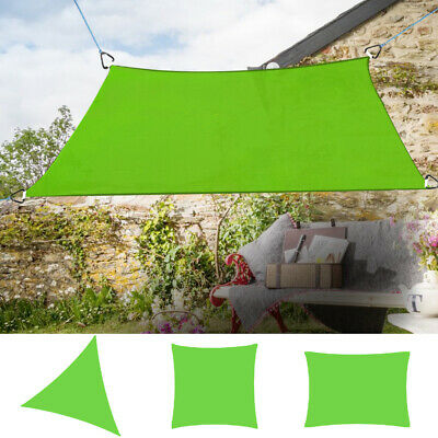 Sun Shade Sail Garden Patio Swimming Pool Sunscreen Awning Canopy 98% UV Block