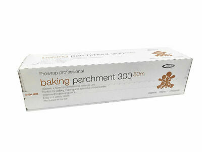 PROWRAP Baking Parchment Roll 300mm x 50m - Dispensing Pack