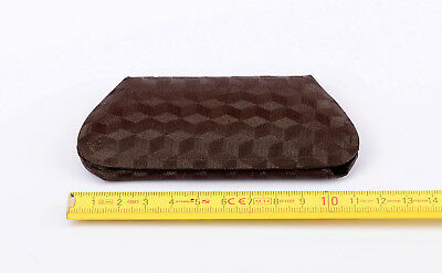 Brillenetui Antik klein braun Vintage Spectacle Case Brown Small Sammler