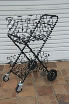 Brand new Foldable multi purpose Shopping trolley with front swivel wheels
