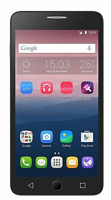 Alcatel ONETOUCH POP Star 5022X Locked to o2 & Tesco Mobile Phone Black & Gold