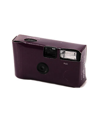 Disposable Camera with Flash Pack of 8 Deep Purple Party Favours