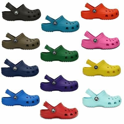 Crocs Childrens Kids Classic Clogs relax fit Various colours RRP £19.99