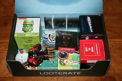 Loot Crate 10 item Lot! Exclusive! Rare! Hard to Find!