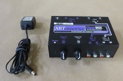 Art Cleanbox Two Way Stereo Converter Hum Eliminator , 2-Channel
