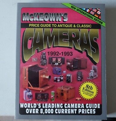 Mc Keown´s Camera Price Guide 1992-1993
