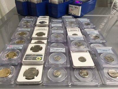 LOT PROOF PR/PF69DCAM/UC PCGS/NGC LOT+SILVER+STATE+COMMEMORATIVE+$1 Coin