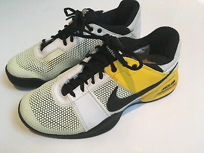 NIKE AIR COURT Ballistec 2.3 Rafa Nadal Yellow White Uk 7