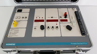 New Siemens PTS-4 Portable Circuit Breaker Test Set NOS Secondary Injection
