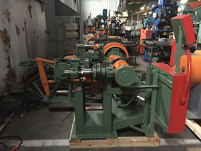 NILSON Model #0 Wire Forming Four Slide Machine 1/16 Wire
