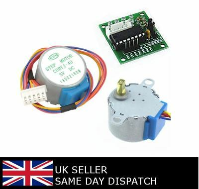 Smart Electronics 28BYJ-48 5V 4 Phase DC Gear Stepper Motor One Set ULN2003