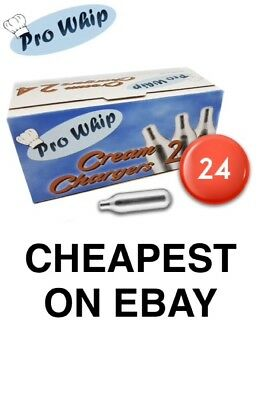 8g Pro Whip Whipped Cream Chargers - Whippers Dispensers N2O NOS NOZ