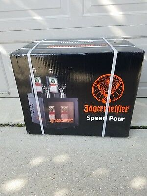 Jagermeister Speed Pour Cooler Jager; Brand New Never Opened Box!