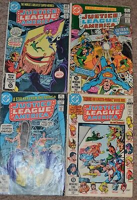 DC Comics Justice League of America issue 4 issue bundle