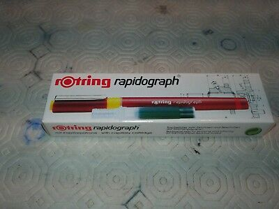 Rotring rapidograph   0,60 mm penna china