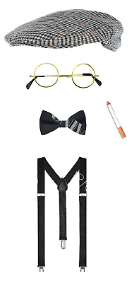 Peaky Blinders 20's Tommy Shelby Fancy Dress Stag Night Costume Accessories Lot