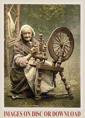 Print/Sell c1900 IRELAND COLOUR PHOTOCHROM PRINTS IMAGE COLLECTION DISC/DOWNLOAD
