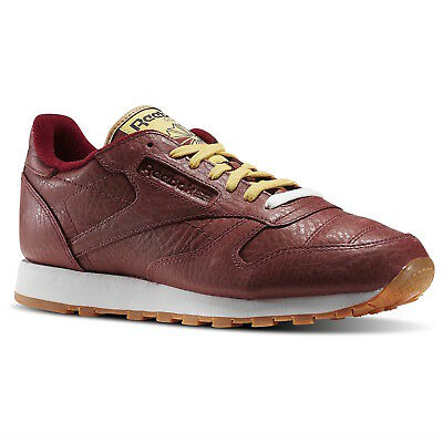 2c7613b0a5c Reebok CLASSIC LEATHER BOXING Men s Shoes BD4891 Rugged Maroon   Chalk-Gum