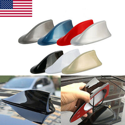 Universal Roof Shark Fin Vortex Stereo Radio Aerial Signal Antenna Colors Choice