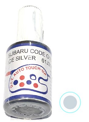 Subaru Touch Up Paint Ice Silver Metallic G1U Postage Now Available