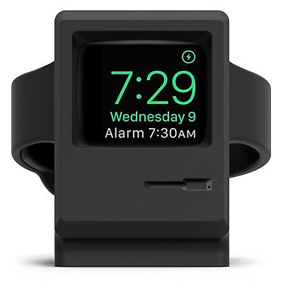 PASBUY 3W Vintage Monitor Watch Charging Station for Apple Watch Series 1 2 3 B