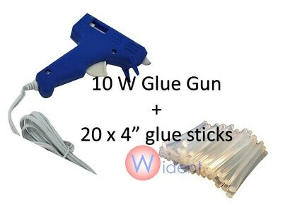 Hot Melt Glue Gun with 60 Mini Clear Glue Sticks