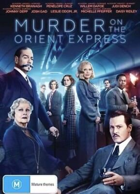 Murder On The Orient Express Dvd New & Sealed- Free Postage! Region 4