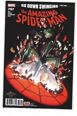 Amazing Spider-Man #797 Legacy Ross Cover 🔥red Goblin 1St Print🔥