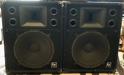 Electrovoice Ev S 152 Uned Pa Loudspeakers In Perfect Working Order