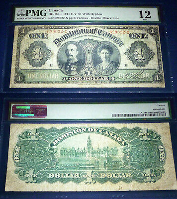 PMG 12  -Dominion of Canada 1911  $1