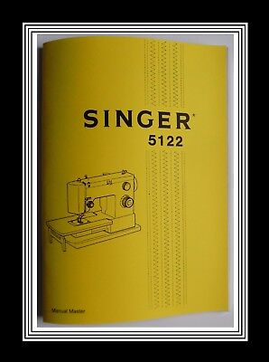 SINGER Models 5122 sewing machine instruction Manual Booklet No Machine