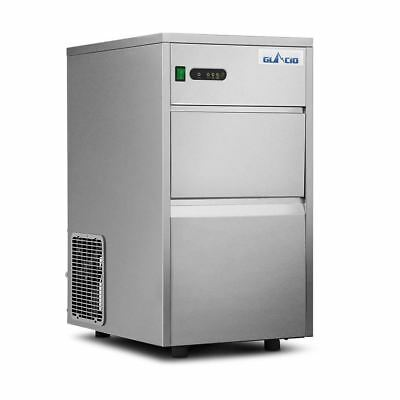 Stainless Steel Commercial Ice Maker