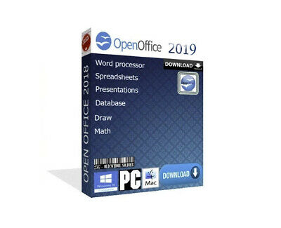 2018 Open Office Pro Word Spreadsheets For Microsoft Windows & MAC (Download)