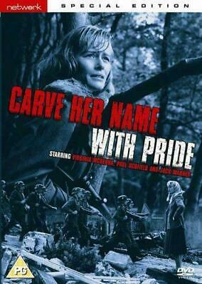 CARVE HER NAME WITH PRIDE special edition. Virginia McKenna. New sealed DVD.