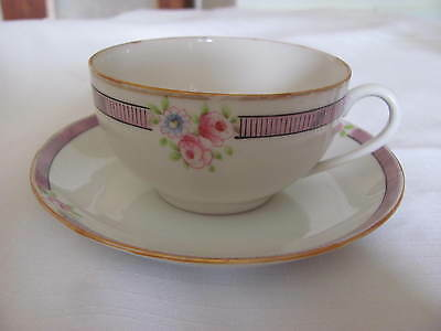 Noritake Hand Painted  Cup And Saucer Japan