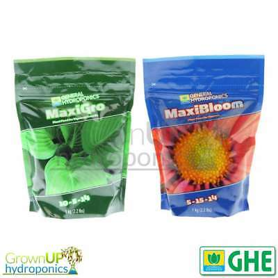GHE Maxi Series - Gro & Bloom - 100% Water Soluble