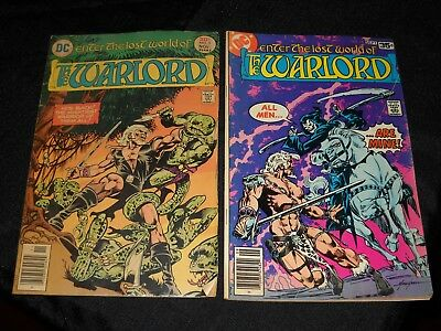 Lot Of 20 Dc Enter The Lost World Of The Warlord Comics