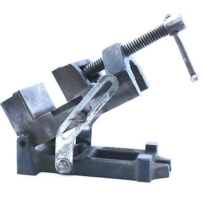 Vintage STANLEY No. 992A 2-1/4'' Jaw Machinist Drill Press Angle Vise Base