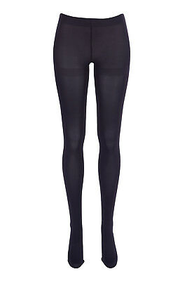 NEW Ambra Womens Stockings Totally Coloured Opaque Tights DarkBurg
