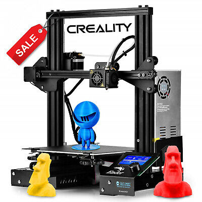 Newest Creality Ender 3 3D Printer 220X220X250mm DC 24V US & EU Stock