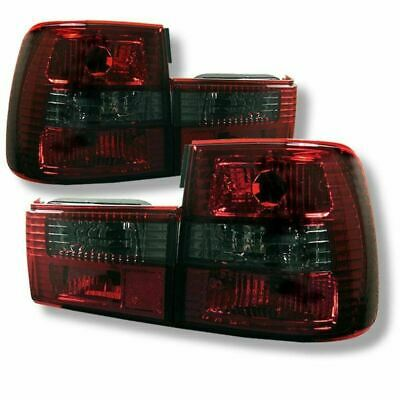 Spyder Euro Style Tail Lights, Fits BMW E34 5-Series 88-95