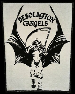 DESOLATION ANGELS NWOBHM OFFICIAL BACK  PATCHES (Sew on)