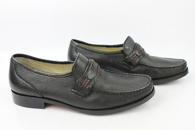 Mocassin Comfort Manz Exclusiv all Leather Black T 43 Mint