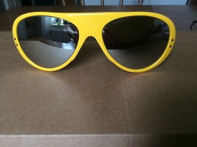 CEBE Sonnenbrille sunglasses Alpine Crafts 439 Yellow-Made in France ULTRA  RARE df45d09bcd